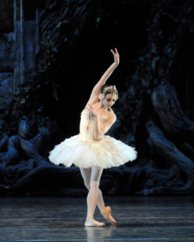 Maria Kochetkova in Swan Lake. Photo by Gene Schiavone.