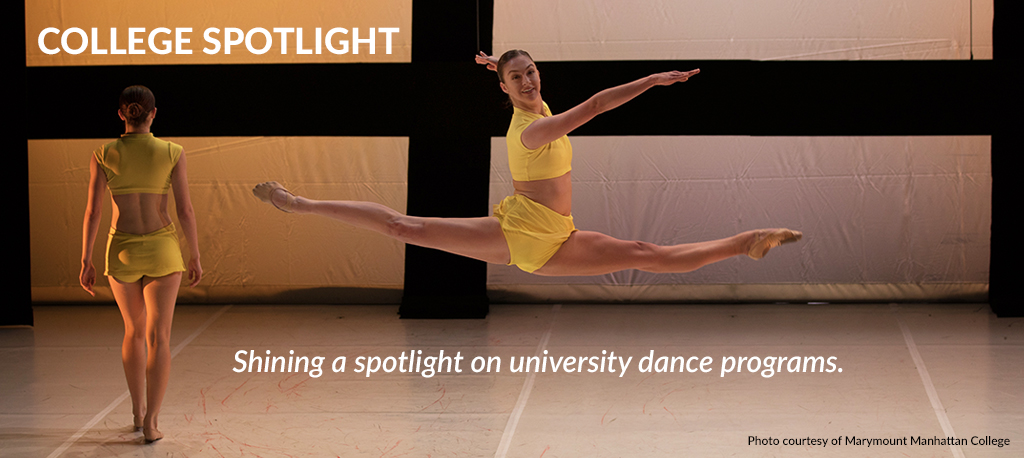 College Spotlight, university dance programs workshops