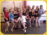 Ashfield Ballet School with Scott Thompson 4/6/16