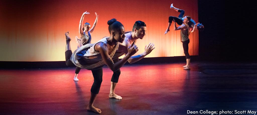 Dean College  dance dept. performance photo