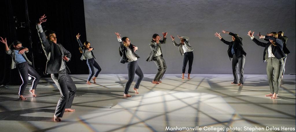 Manhattanville College  dance dept. performance photo