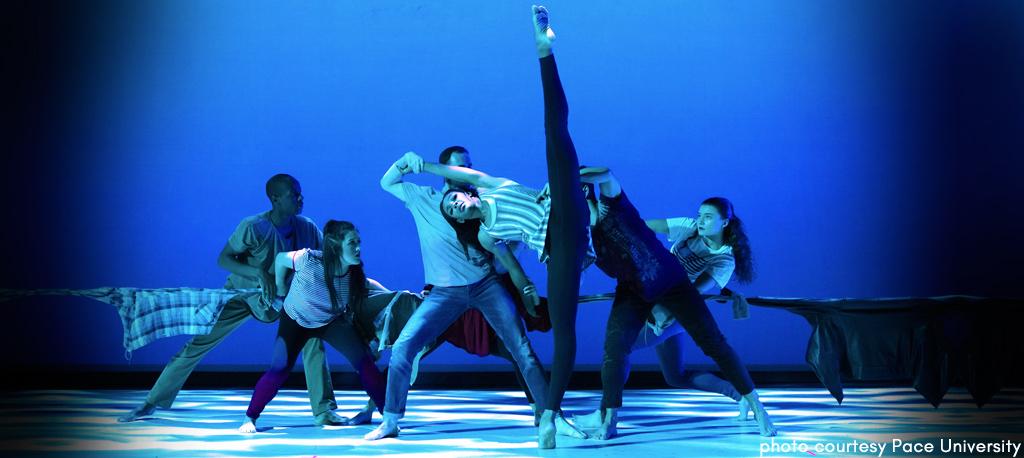 Pace University  dance dept. performance photo