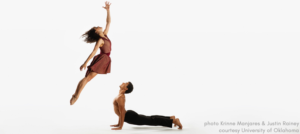 University of Oklahoma  University  dance dept. performance photo