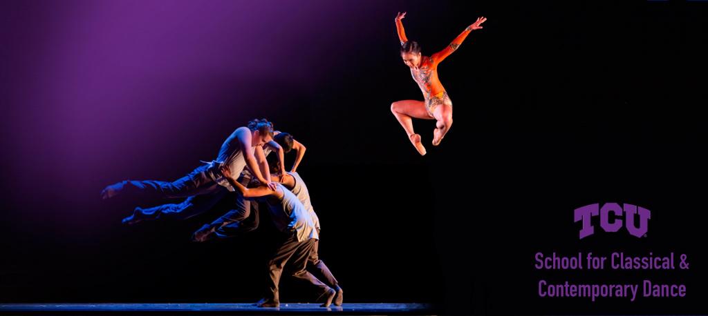 TCU  dance dept. performance photo