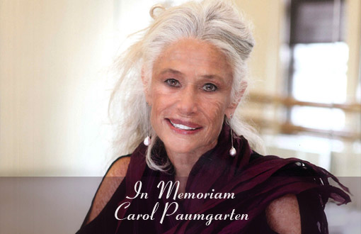 in memoriam, Carol Paumgarten