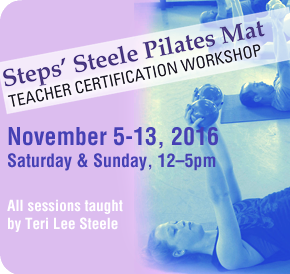 pilates certification workshop fall 2016