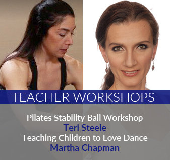 Teacher Workshops - teaching yoga and getting kids to love dance